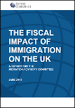 The Fiscal Impact of Immigration on the UK