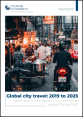 Global city travel: 2019 to 2025