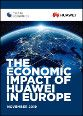 The economic impact of Huawei in Europe