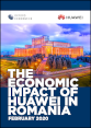 The economic impact of Huawei in Romania