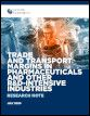 Trade and transport margins in pharmaceuticals and other R&D-intensive industries
