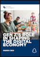 Gen Z's role in shaping the digital economy