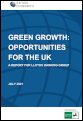 Green growth: opportunities for the UK