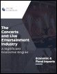 The Concerts and Live Entertainment Industry: A Significant Economic Engine