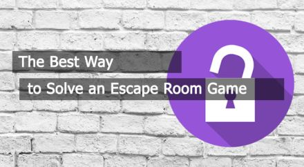 The Best Way to Solve an Escape Room Game