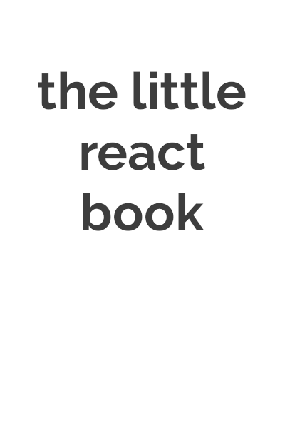 The Little React Book cover