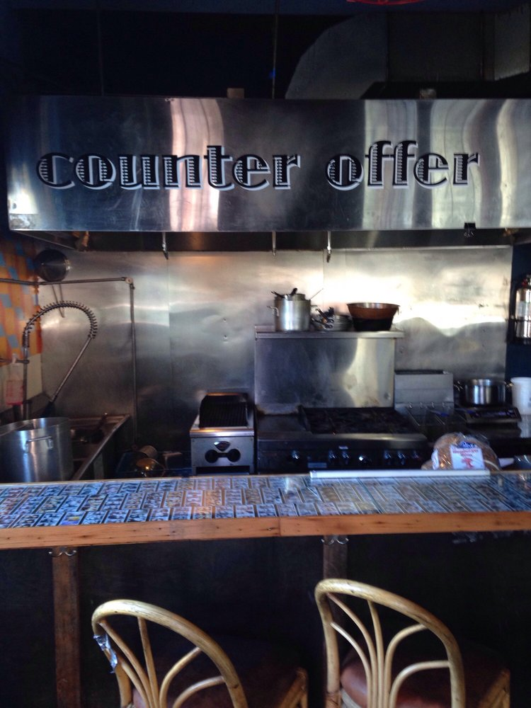 Reasons to eat out in San Francisco - Counter Offer