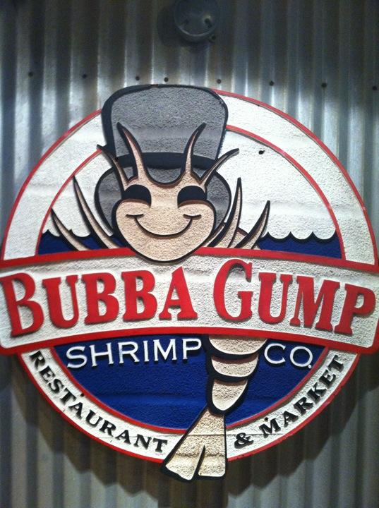 Reasons to eat out in San Francisco - Bubba Gump Shrimp Co.