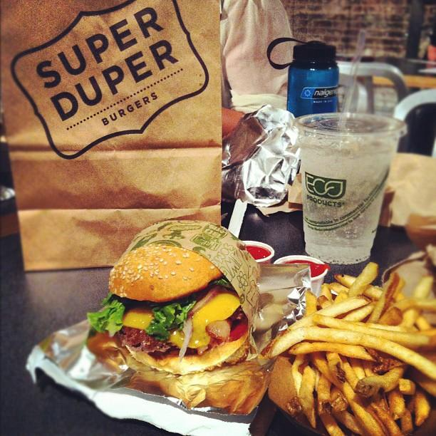 Reasons to eat out in San Francisco - Super Duper Burger