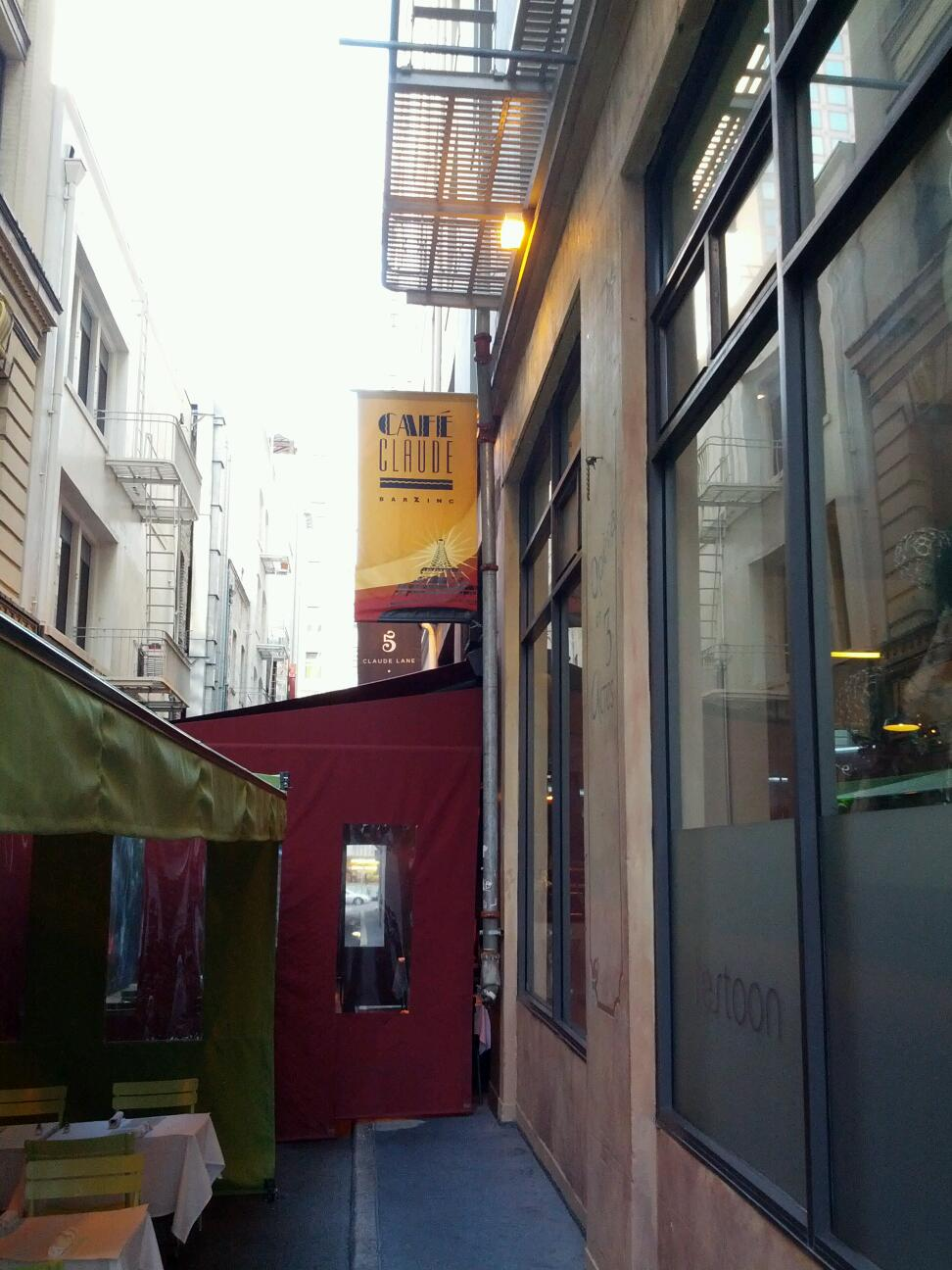 Reasons to eat out in San Francisco - Cafe Claude