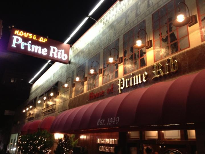 Reasons to eat out in San Francisco - House of Prime Rib