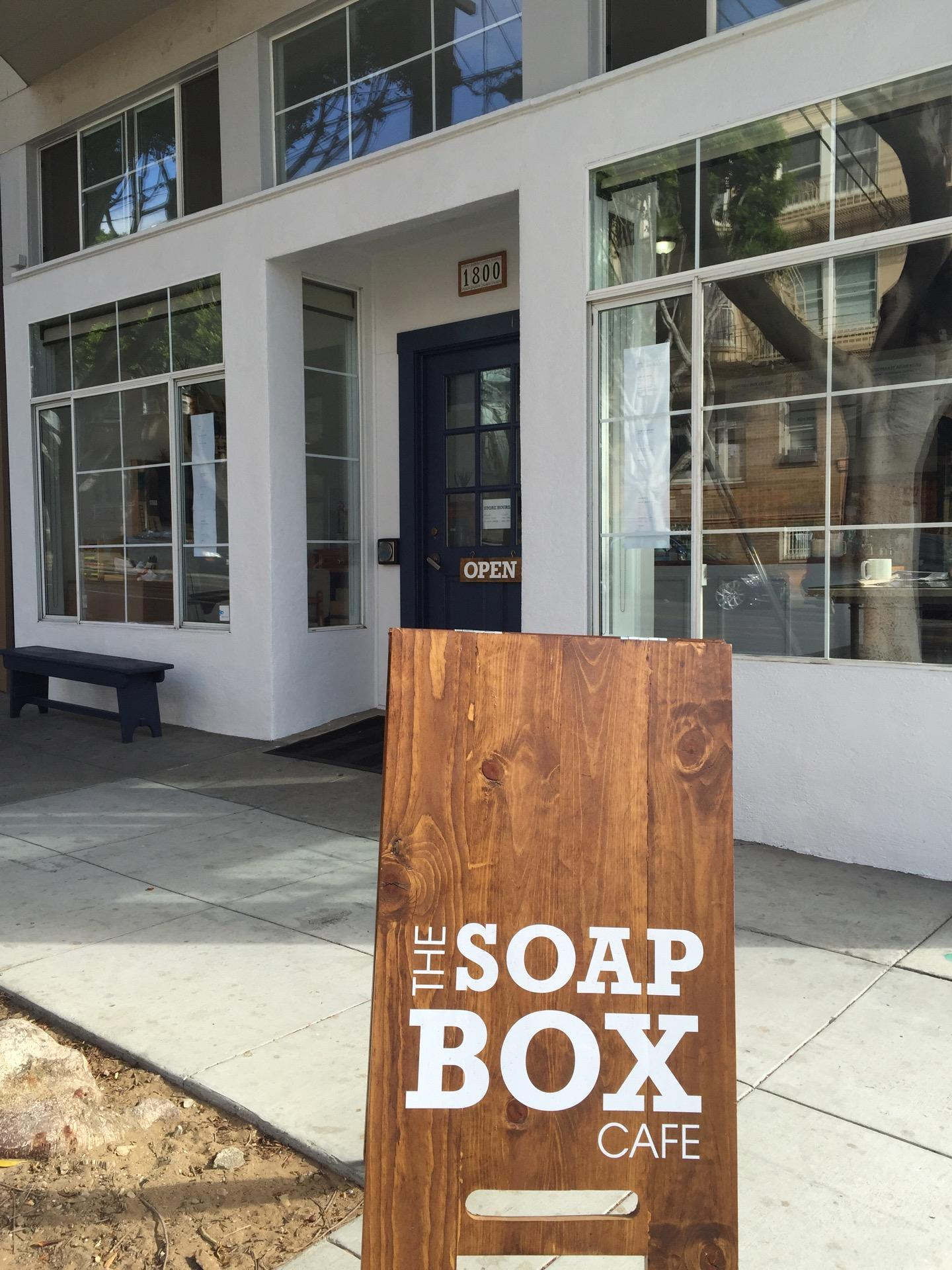 Reasons to eat out in San Francisco - The Soap Box Cafe