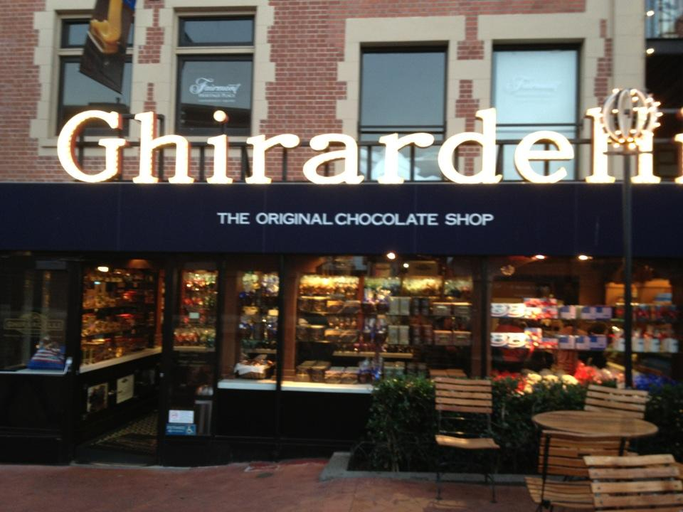 Reasons to eat out in San Francisco - Ghirardelli Chocolate Marketplace