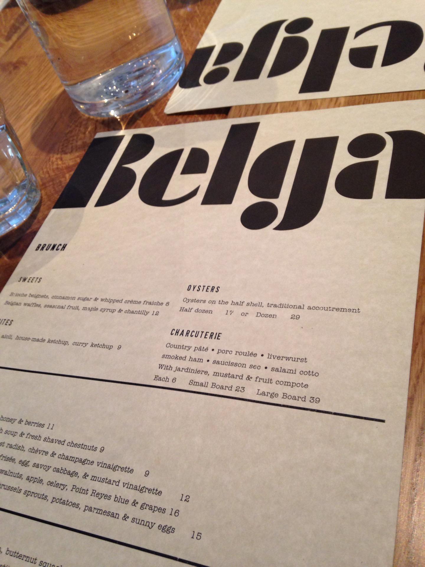 Reasons to eat out in San Francisco - Belga