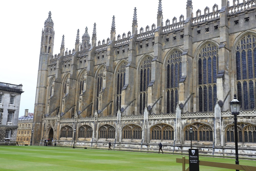 Reasons to visit Cambridge - King's College Chapel