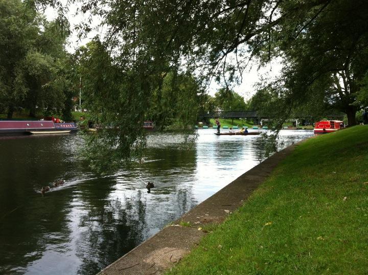 Reasons to visit Cambridge - Jesus Green
