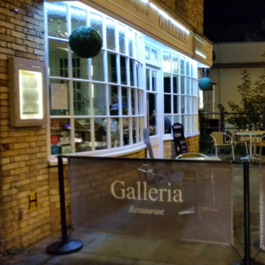 Reasons to eat out in Cambridge - Galleria Restaurant