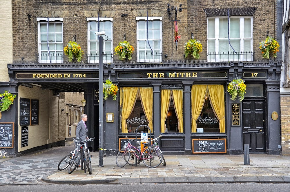 Reasons to eat out in Cambridge - The Mitre