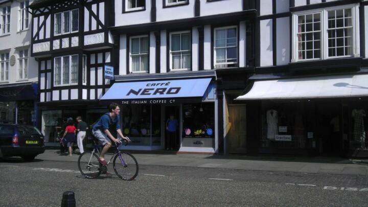 Reasons to eat out in Cambridge - Caffè Nero
