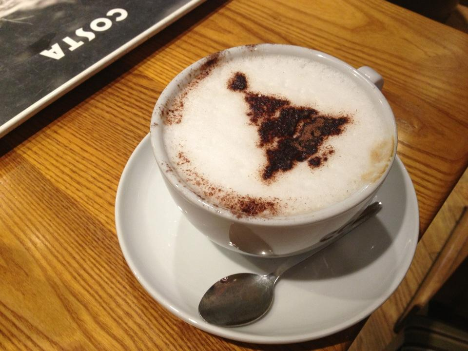 Reasons to eat out in Cambridge - Costa Coffee