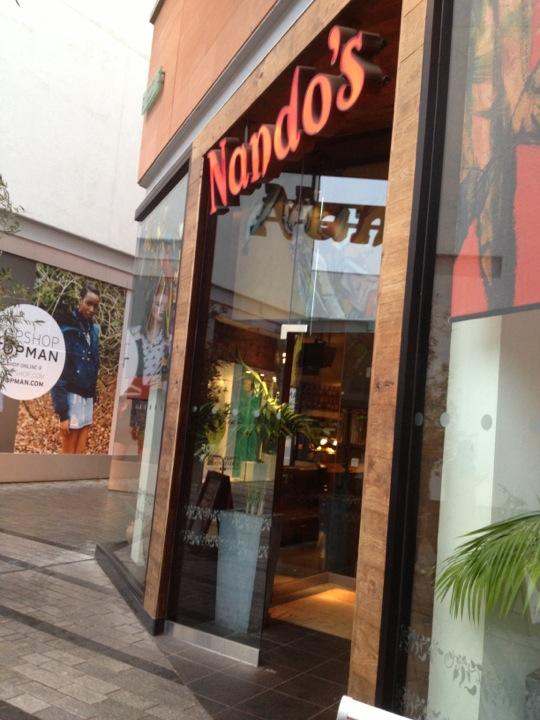 Reasons to eat out in Exeter - Nando's