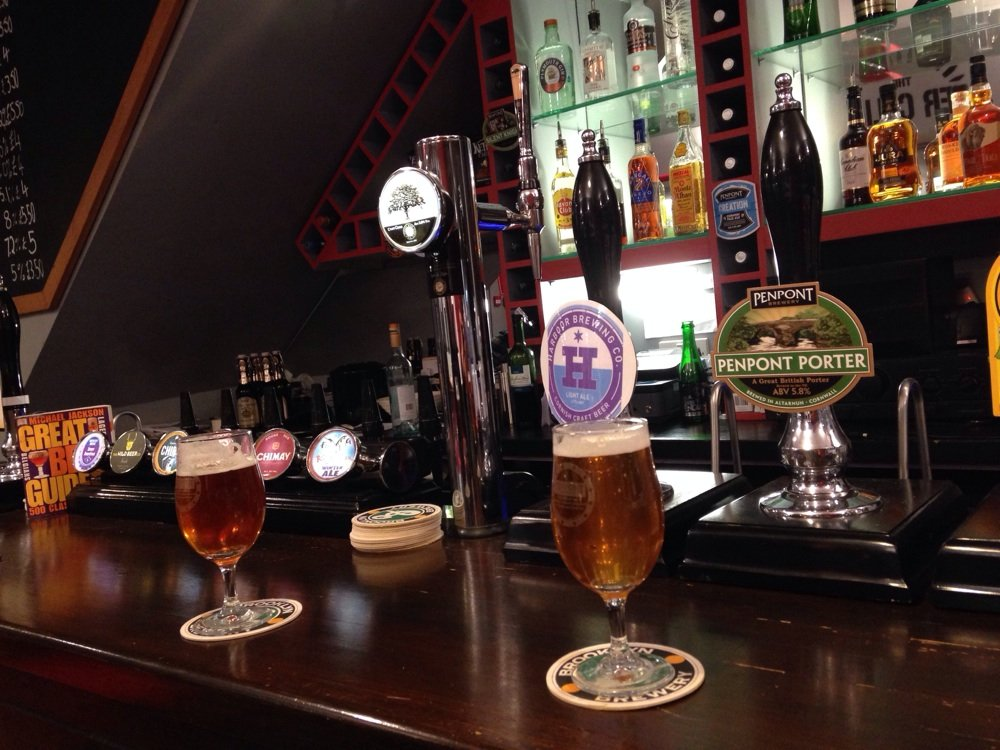 Reasons to eat out in Exeter - The Beer Cellar