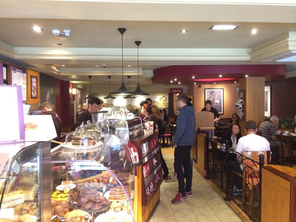 Reasons to eat out in Exeter - Costa Coffee