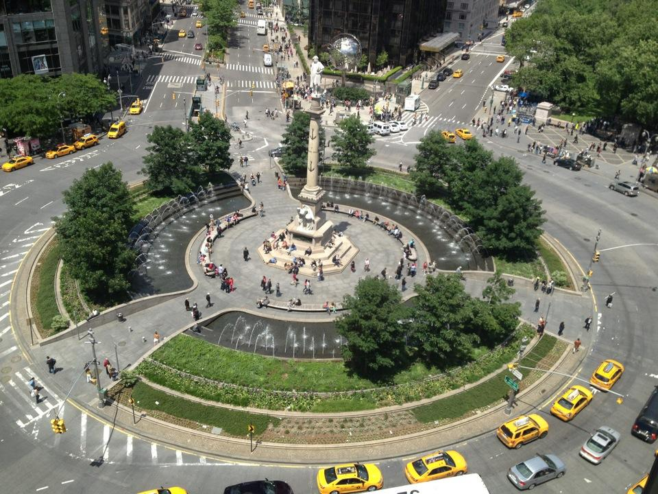 Reasons to visit New York - Columbus Circle