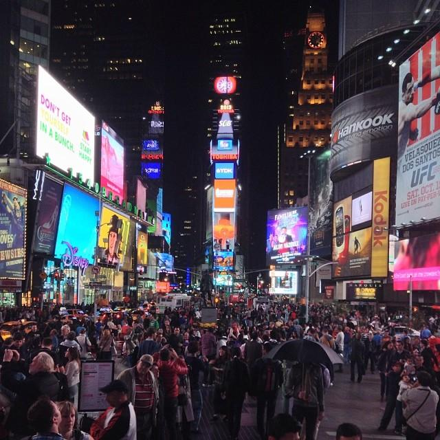 Reasons to visit New York - Times Square