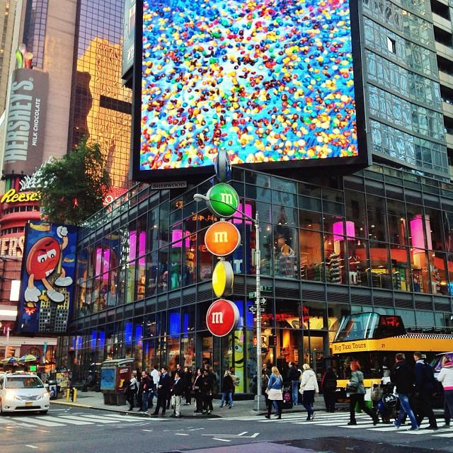 Reasons to visit New York - M&M's World