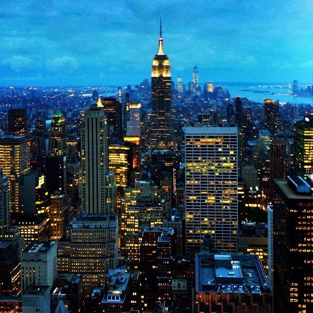 Reasons to visit New York - Top of The Rock Observation Deck