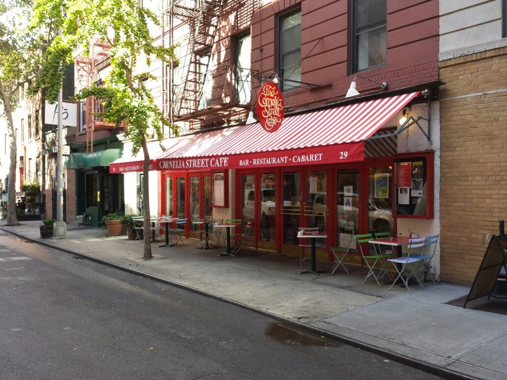 Reasons to eat out in Greenwich Village - The Cornelia Street Cafe
