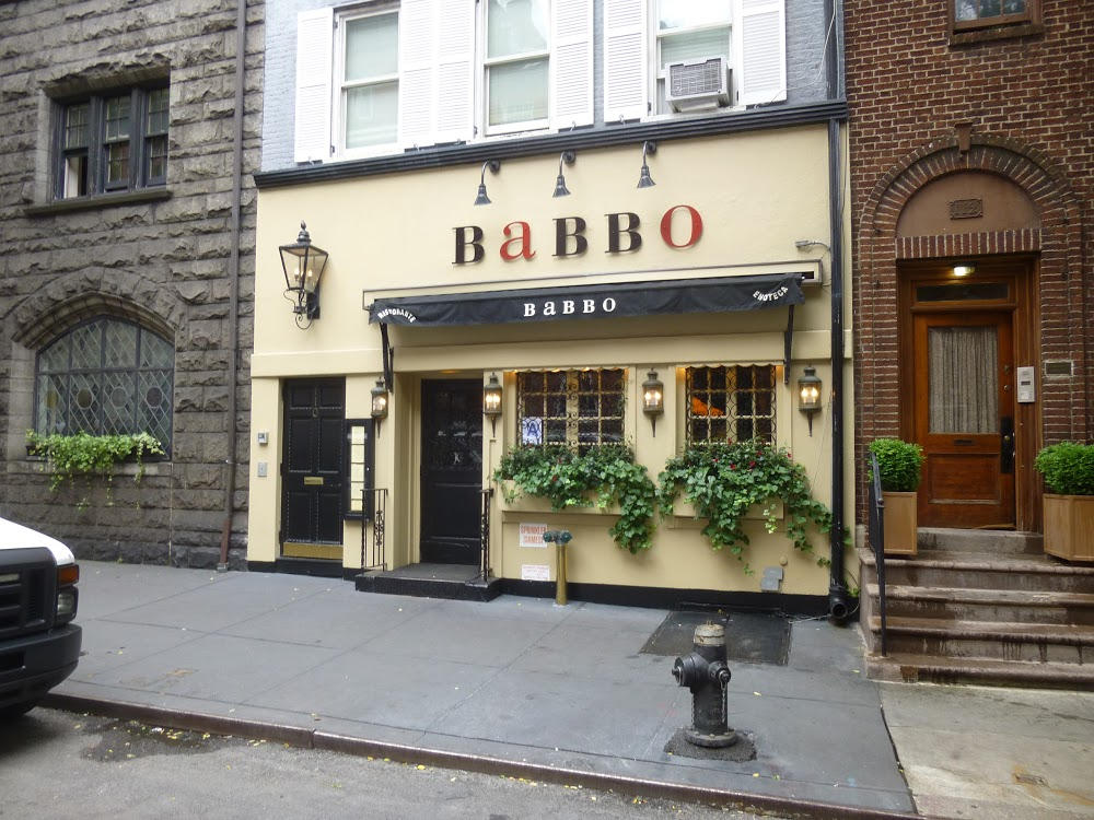 Reasons to eat out in Greenwich Village - Babbo Ristorante
