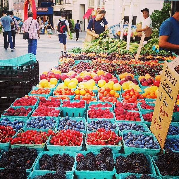 Reasons to eat out in Greenwich Village - Union Square Greenmarket
