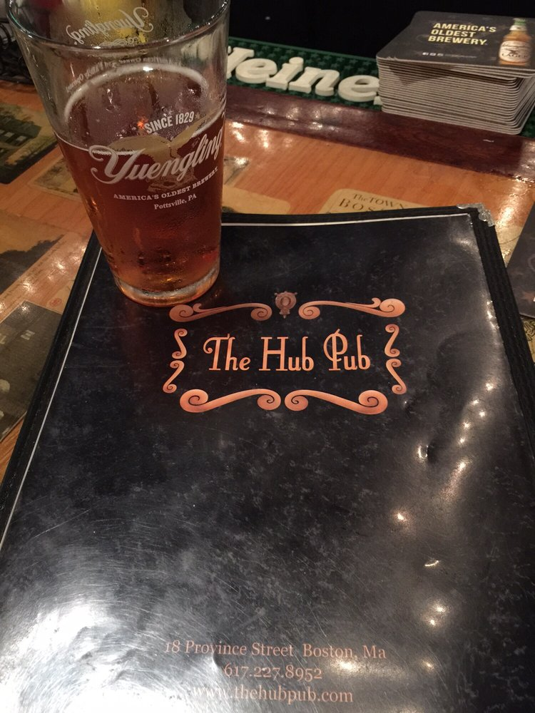 Reasons to drink in Boston - The Hub Pub