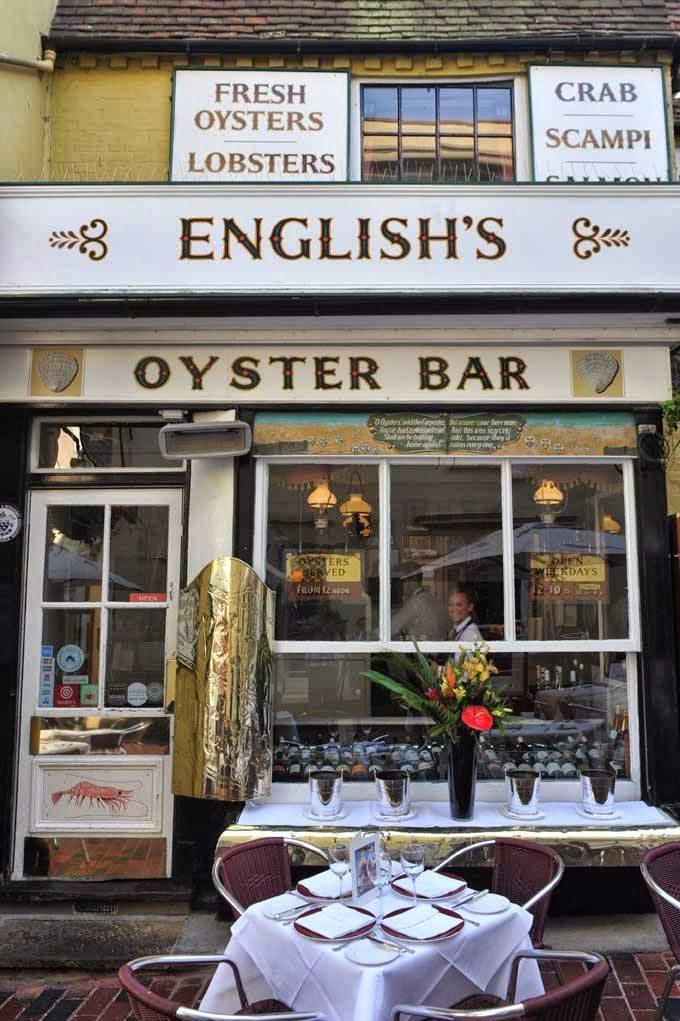 Reasons to eat out in Brighton - English's of Brighton