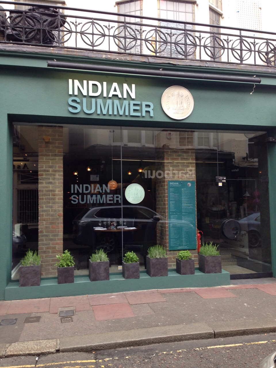 Reasons to eat out in Brighton - Indian Summer