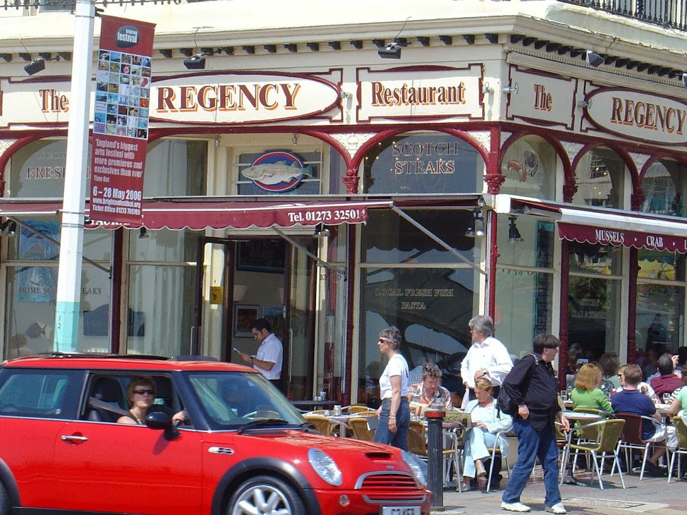 Reasons to eat out in Brighton - Regency restaurant