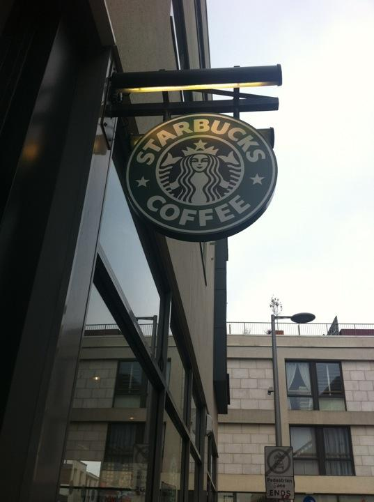Reasons to drink in Brighton - Starbucks