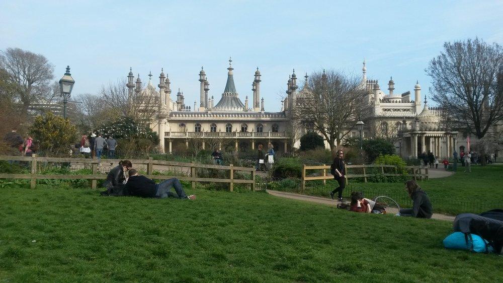 Reasons to visit Brighton - The Royal Pavillion Gardens