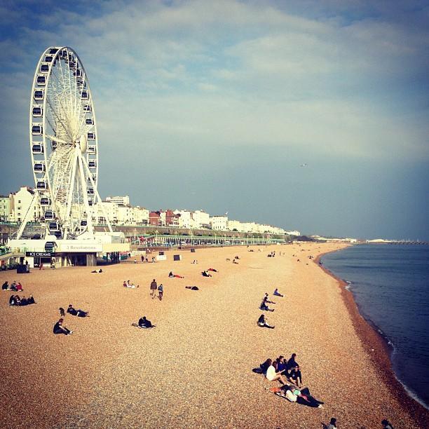 Reasons to visit Brighton - Brighton Beach