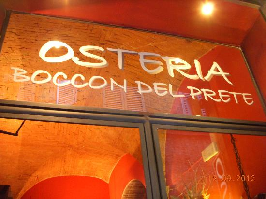 Reasons to eat out in Siena - Boccon del Prete