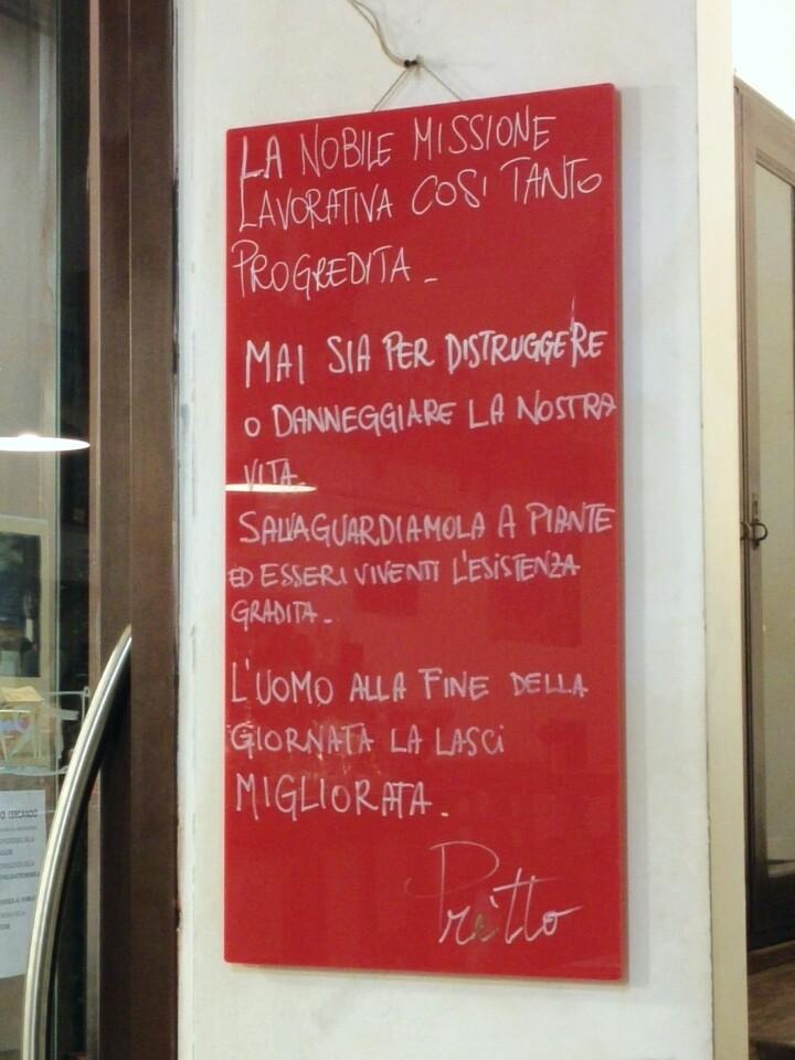 Reasons to eat out in Siena - Pretto - prosciutteria e convivio