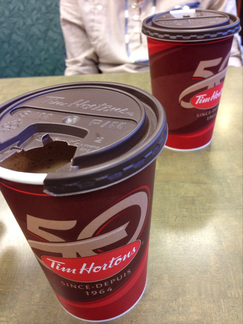 Reasons to eat out in Edmonton, Canada - Tim Hortons