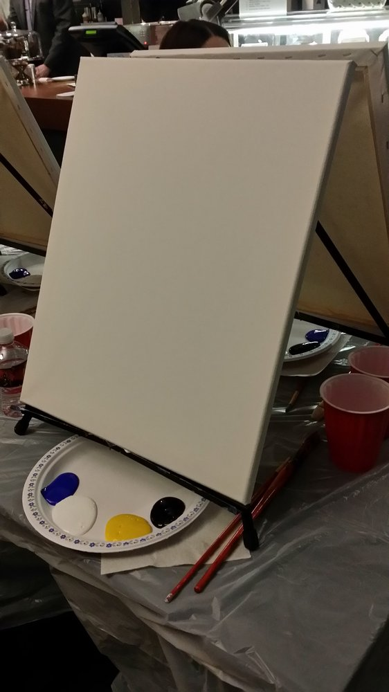 Reasons to eat out in Edmonton, Canada - Paint Nite