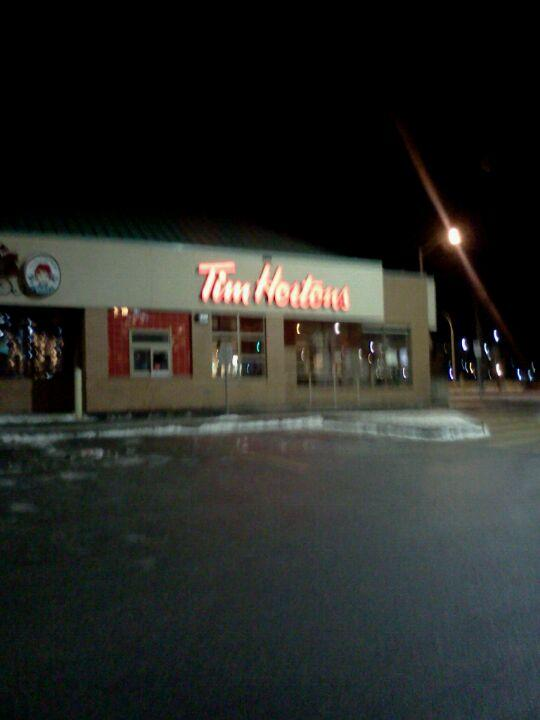 Reasons to drink in Edmonton, Canada - Tim Hortons / Wendy's