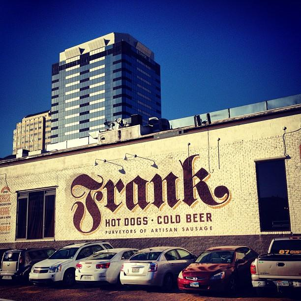 Reasons to drink in Austin - Frank Restaurant