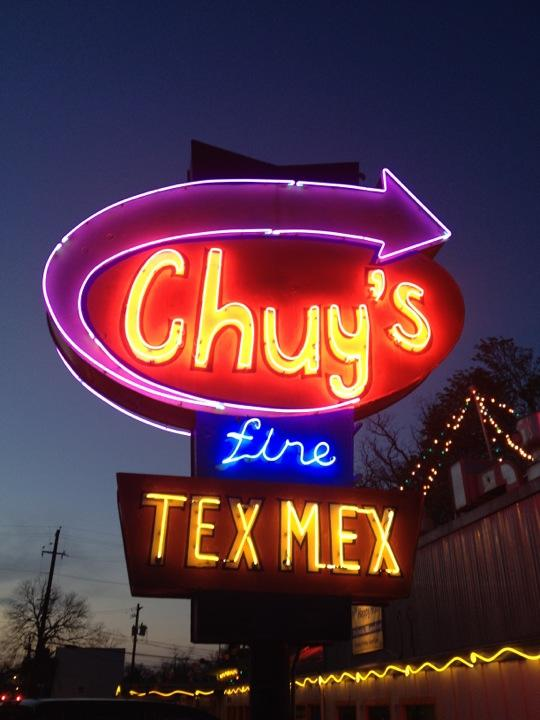 Reasons to drink in Austin - Chuy's