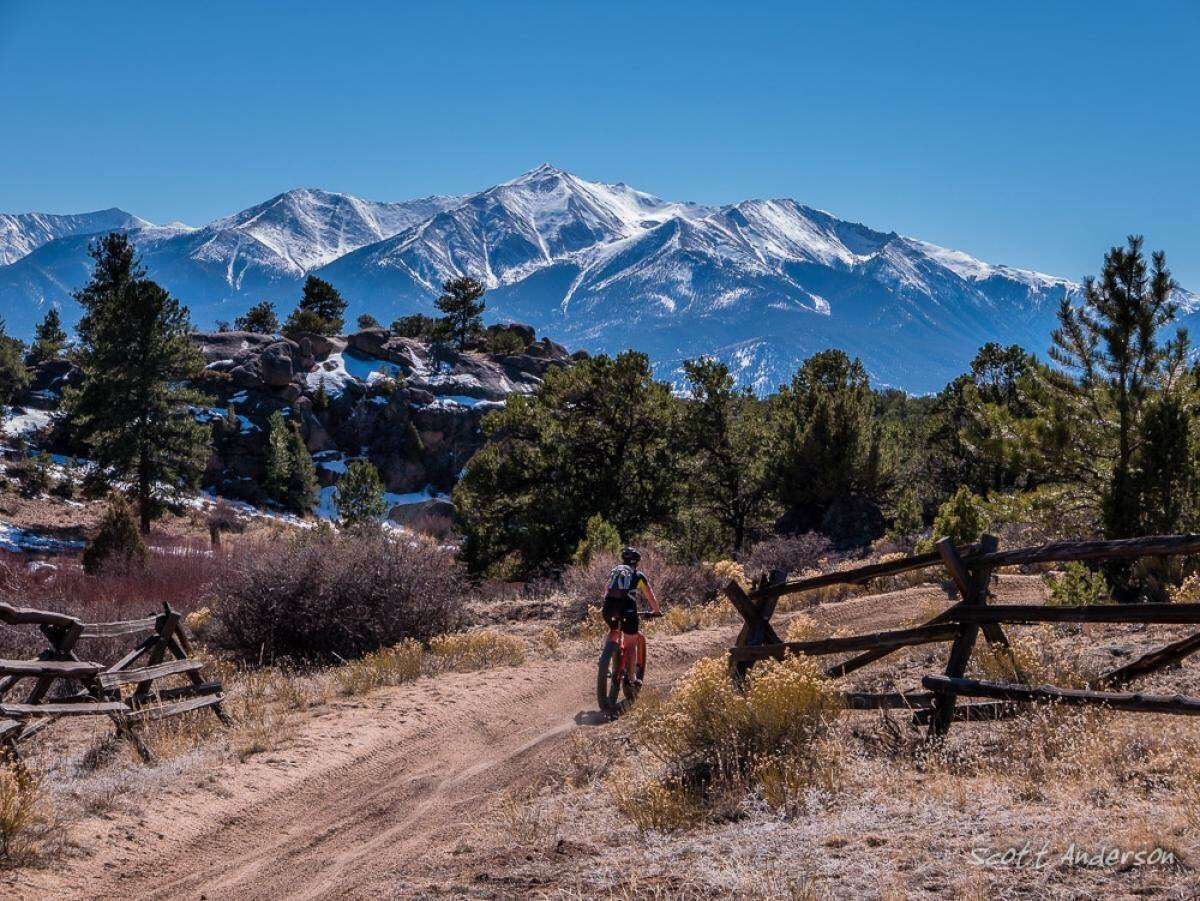 Reasons to Mountain Bike in the USA - Four mile travel management area