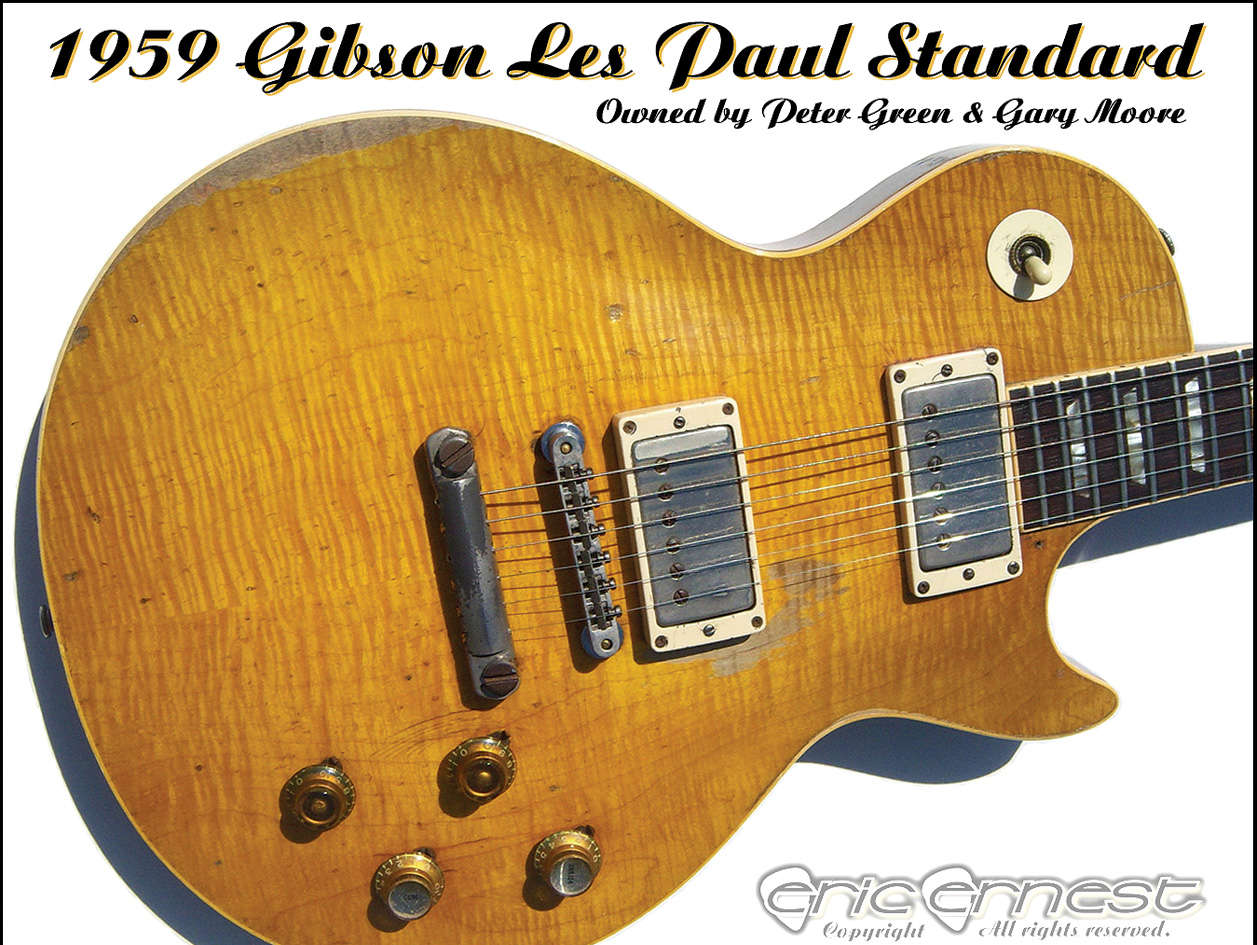 Reasons to play guitar. - 1959 Gibson Les Paul Standard
